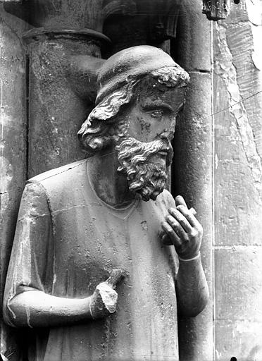 Cathédrale Notre-Dame Buste d'Adam, Lajoie, Abel,
