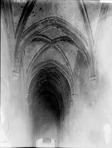 Chartreuse du Val-de-Bénédiction Escalier vôuté, Enlart, Camille (historien),