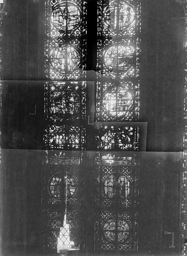 Cathédrale Notre-Dame Chapelles du choeur, vitrail L, Gaudin,