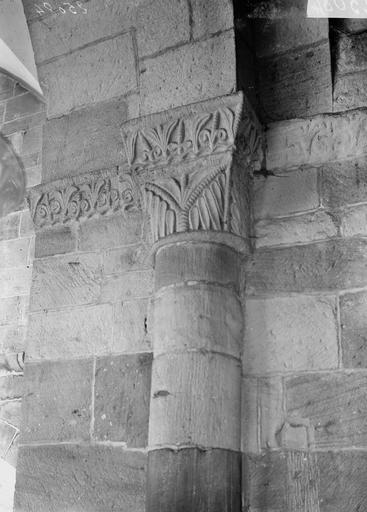 Cathédrale Saint-Dié Chapiteau, Durand, Georges (photographe à Amiens),