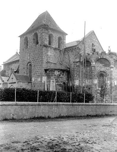 Eglise Saint-Sanctin ou Saint-Xantin Ensemble sud-est, Chaine, Henri (architecte),
