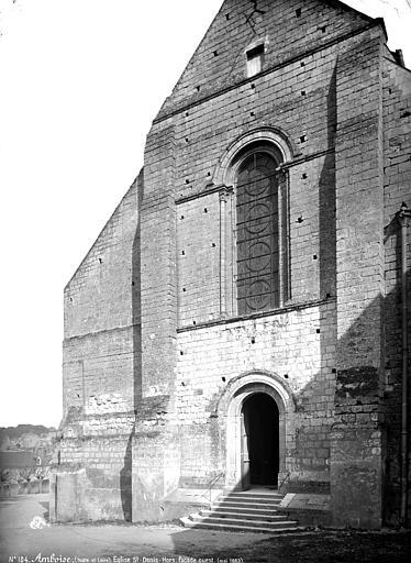 Eglise Saint-Denis Façade ouest, Mieusement, Médéric (photographe),
