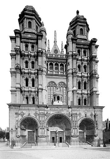Eglise Saint-Michel Ensemble ouest, Heuzé, Henri (photographe),