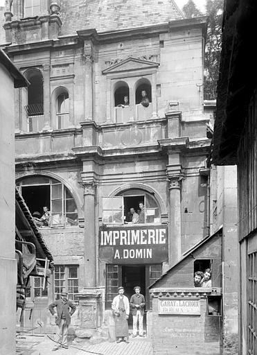 Hôtel de Mondrainville ou de la Monnaie (ancien) , Durand, Eugène (photographe),