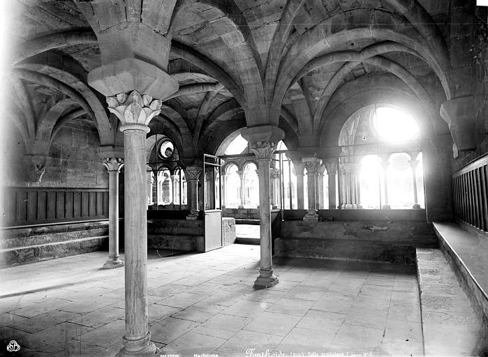 Abbaye de Fontfroide Salle capitulaire, Mieusement, Médéric (photographe),