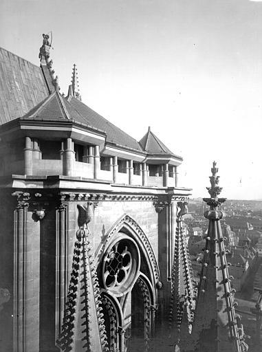 Cathédrale Notre-Dame Partie supérieure de la tour sud-ouest, Lajoie, Abel,