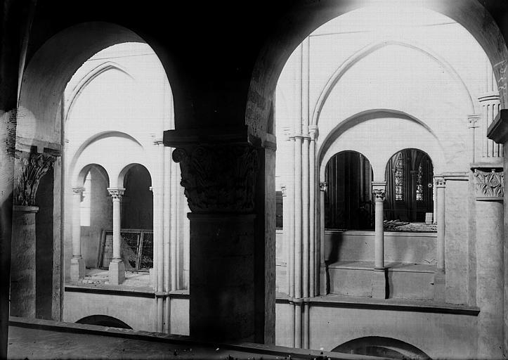 Basilique Saint-Remi Triforium, Enlart, Camille (historien),