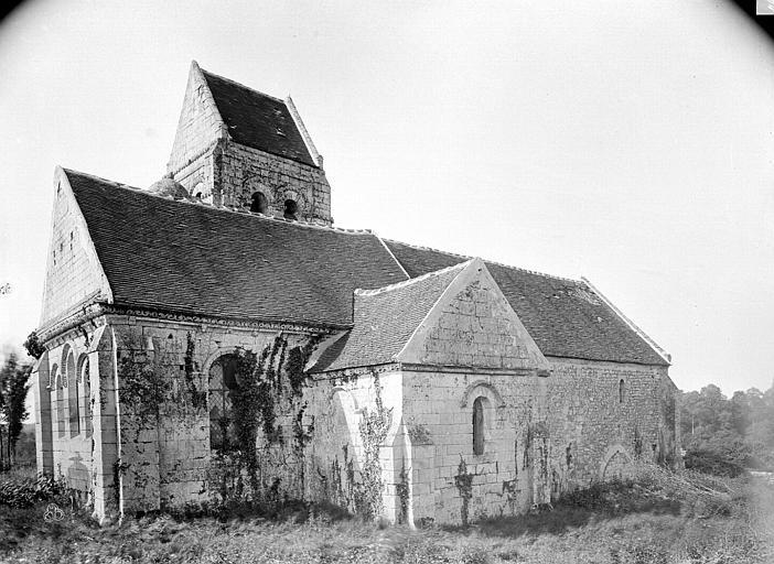 Eglise de Noël-Saint-Martin (ancienne) Ensemble nord-est, Durand, Eugène (photographe),