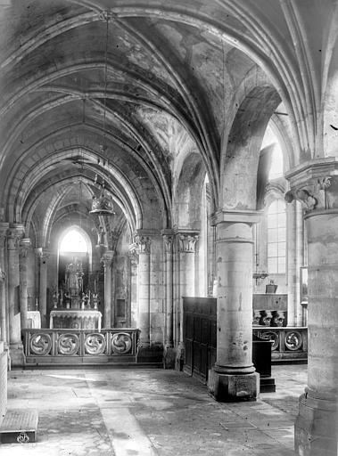 Eglise Saint-Julien-le-Pauvre Bas-côté, Godefroy,