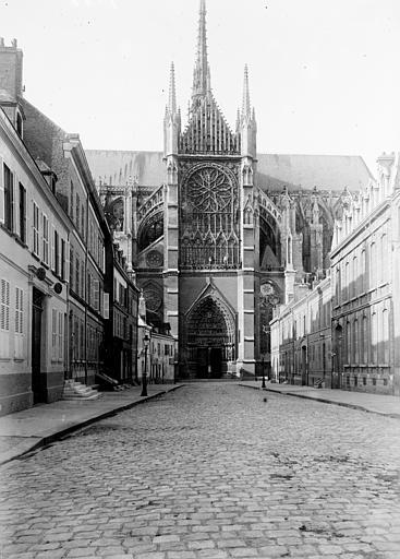 Cathédrale Transept, Chaine, Henri (architecte),