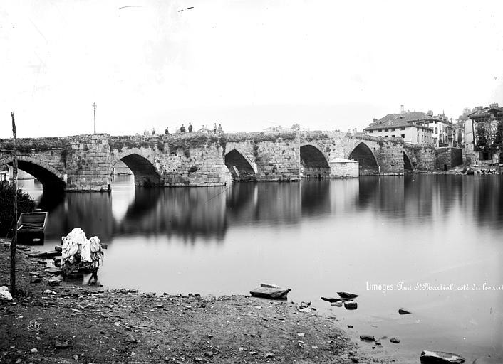 Pont Saint-Martial Ensemble, côté est, Mieusement, Médéric (photographe),
