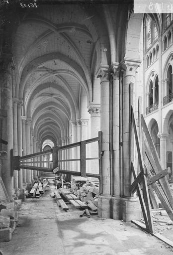 Eglise Notre-Dame (ancienne cathédrale) Bras nord du transept, Service photographique,