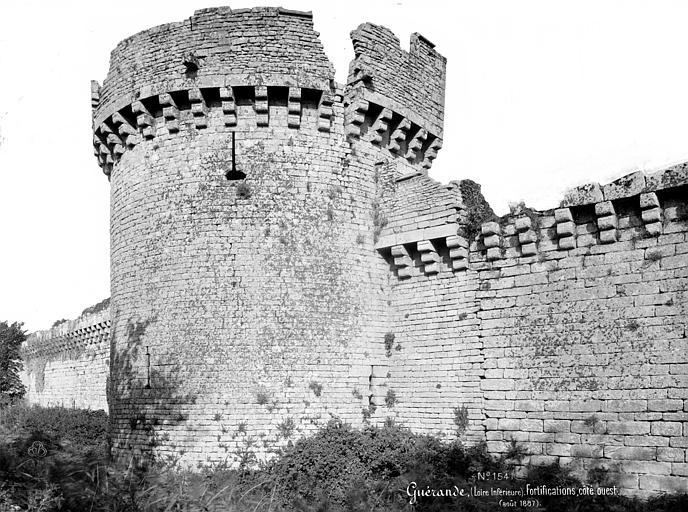 Remparts Tour, côté ouest, Mieusement, Médéric (photographe),