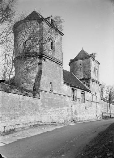 Abbaye du Moncel (ancienne) Tour de Fécamp, vers l'extérieur, Service photographique,