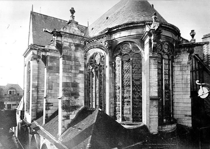 Eglise Saint-Pantaléon Abside, Durand, Eugène (photographe),