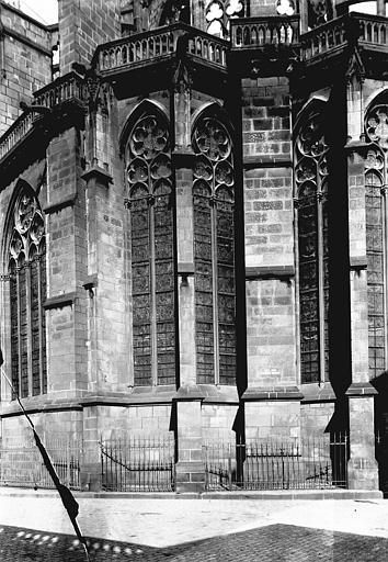 Cathédrale Notre-Dame Partie de l'abside, Enlart, Camille (historien),