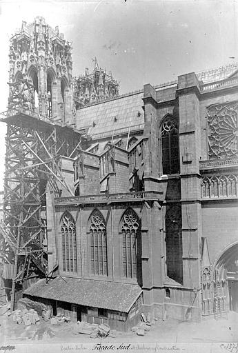 Cathédrale Notre-Dame Façade sud : partie ouest, Mieusement, Médéric (photographe),