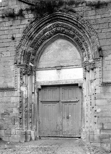Eglise Saint-Frambourg Portail de la façade ouest, Durand, Jean-Eugène (photographe),