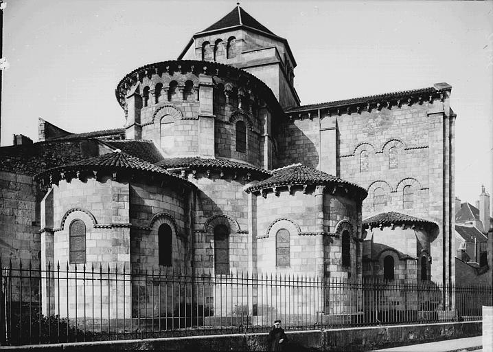 Eglise Saint-Etienne Ensemble est, Enlart, Camille (historien),