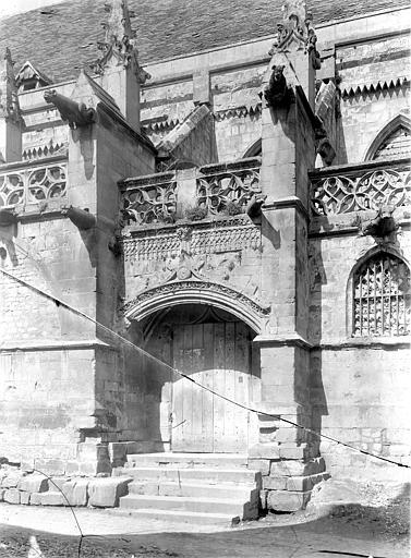 Eglise Saint-Gilles (ancienne) Portail de la façade sud, Durand, Jean-Eugène (photographe),
