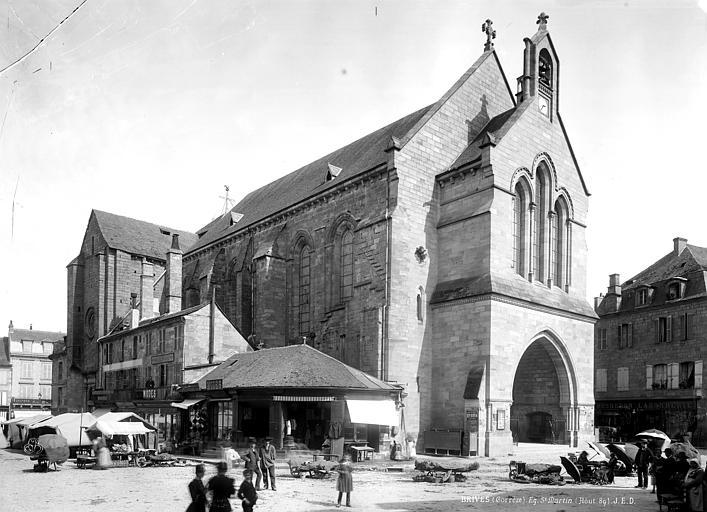 Eglise Saint-Martin Ensemble nord-ouest, Durand, Eugène (photographe),