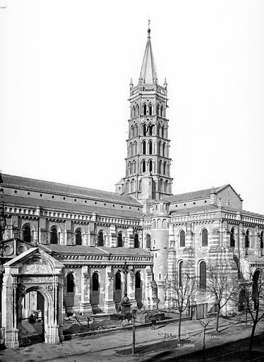 Eglise Saint-Sernin Façade sud, clocher et transept, Mieusement, Médéric (photographe),