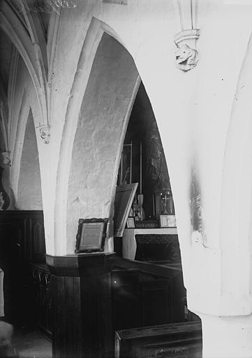 Eglise Saint-Jean-Baptiste (supposée) Choeur: travée, Enlart, Camille (historien),