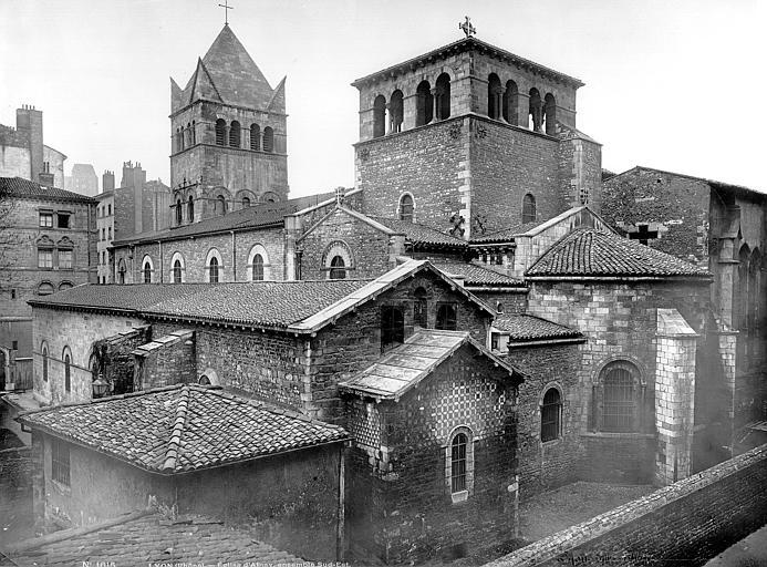 Eglise Saint-Martin d'Ainay Ensemble sud-est, Mieusement, Médéric (photographe),