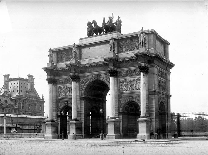 Arc du Carrousel , Durand, Eugène (photographe),