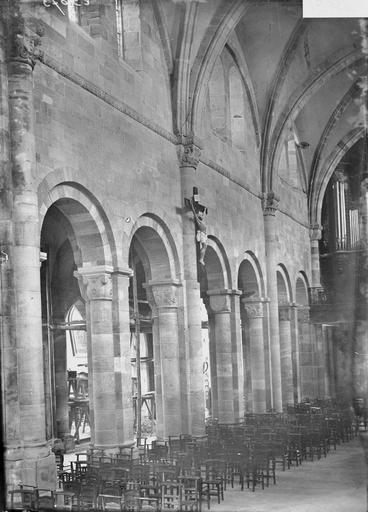 Cathédrale Saint-Dié Nef, travée sud, Durand, Georges (photographe à Amiens),