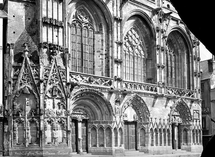 Eglise Notre-Dame Portail de la façade ouest, Mieusement, Médéric (photographe),