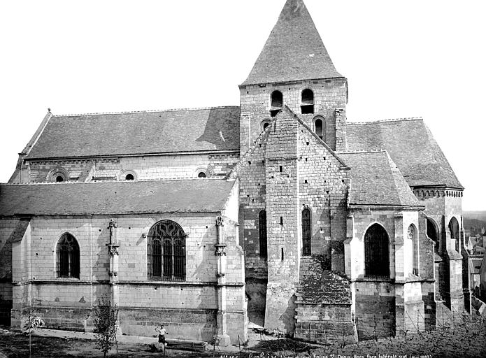 Eglise Saint-Denis Façade sud, Mieusement, Médéric (photographe),