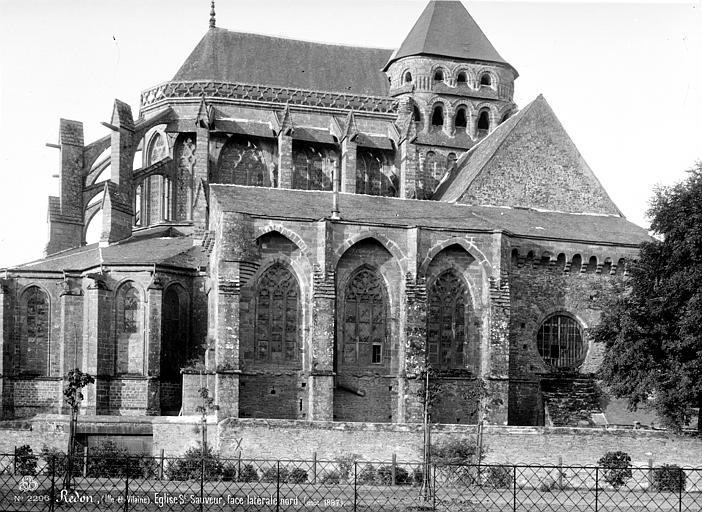 Eglise Saint-Sauveur (ancienne basilique) Ensemble nord, Mieusement, Médéric (photographe),