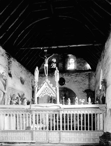 Chapelle Choeur, Enlart, Camille (historien),