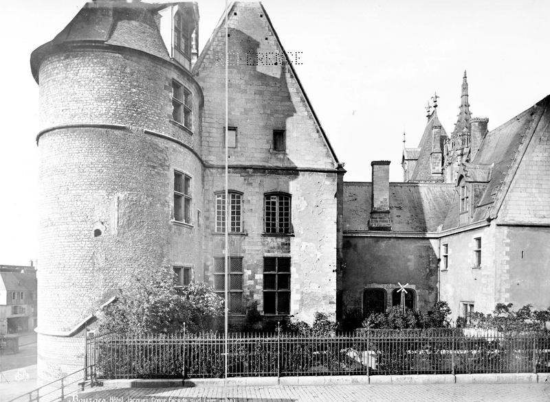 Hôtel de Jacques-Coeur Façade sud, Mieusement, Médéric (photographe),