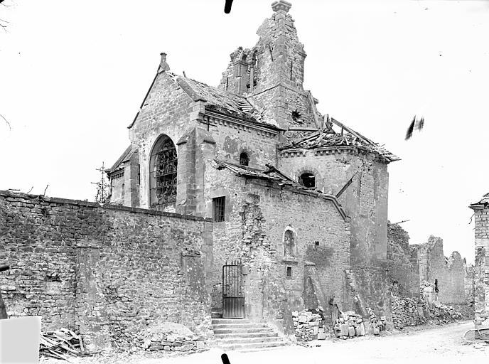 Eglise Saint-Rémi Ensemble sud-est, Queste, P. photographe),