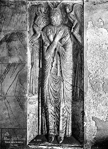 Eglise Cloître : Statue, Mieusement, Médéric (photographe),