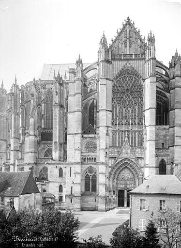 Cathédrale Saint-Pierre Façade nord : transept, Mieusement, Médéric (photographe),