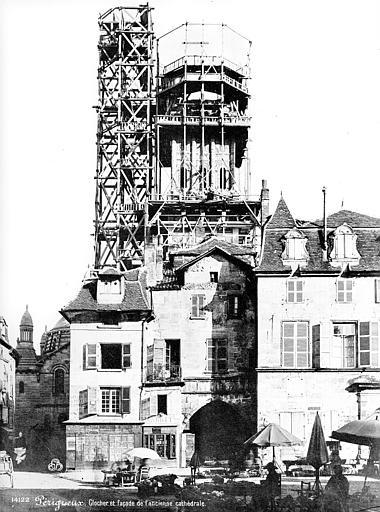 Cathédrale Saint-Front Clocher échafaudé, Mieusement, Médéric (photographe),