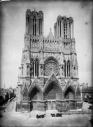 Cathédrale Notre-Dame Ensemble ouest, Lajoie, Abel,