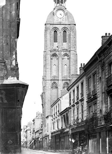 Tour de l'Horloge ; Abbaye de Saint-Martin (ancienne) , Durand, Eugène (photographe),