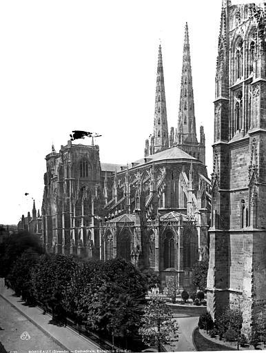 Cathédrale Saint-André Ensemble sud-est, Durand, Eugène (photographe),