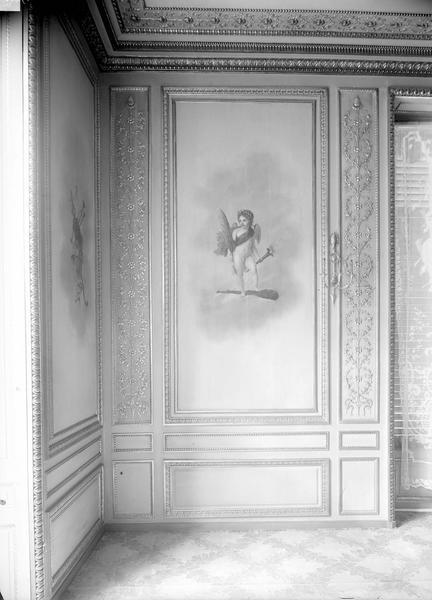 Palais de l' Elysée Les lettres dominant la force, Durand, Eugène (photographe),