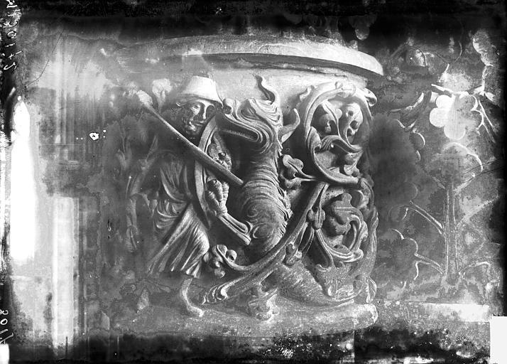 Cathédrale Notre-Dame Chapiteau d'une chapelle absidiale, Lajoie, Abel,