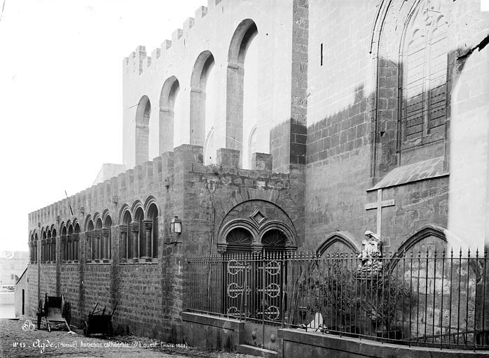 Cathédrale Saint-Etienne (ancienne) Côté sud, Mieusement, Médéric (photographe),