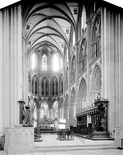 Cathédrale Notre-Dame Vue intérieure du choeur, Mieusement, Médéric (photographe),
