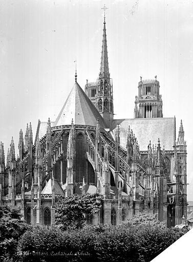 Cathédrale Sainte-Croix Ensemble est, Mieusement, Médéric (photographe),