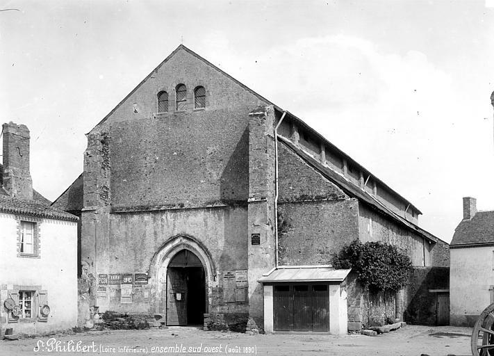 Eglise abbatiale Saint-Philbert Ensemble sud-ouest, Mieusement, Médéric (photographe),