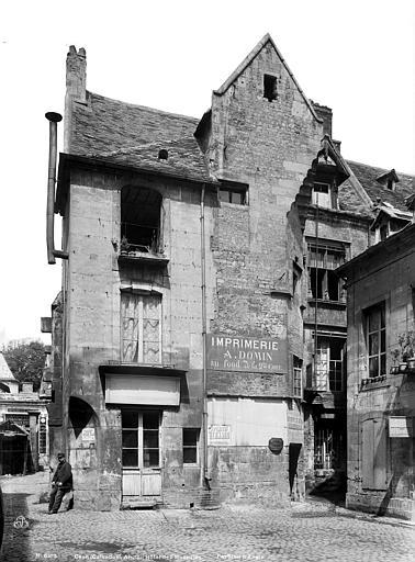 Cour des Monnaies , Durand, Eugène (photographe),