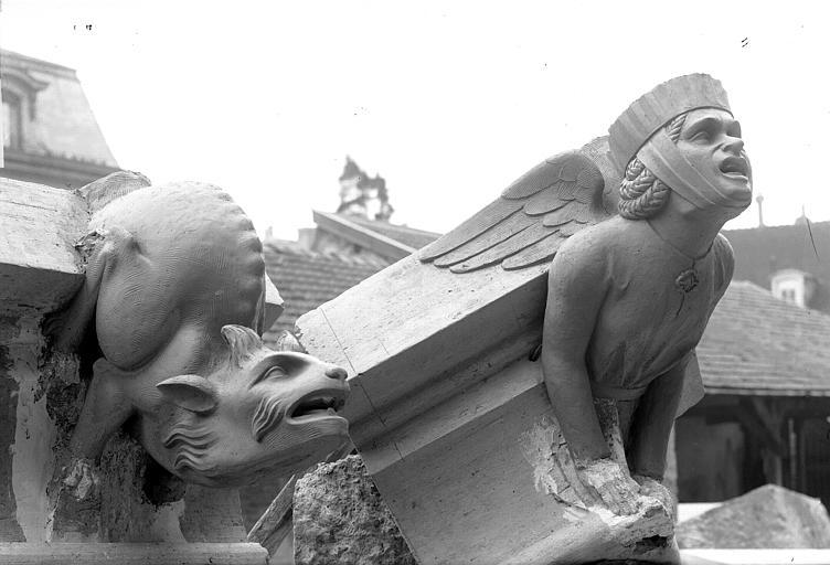 Cathédrale Notre-Dame Modèle pour la restauration d'un pinâcle du bras nord du transept, Lajoie, Abel,